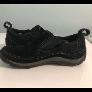Ladies Slip-on Jungle Moc shoes by Merrel EUC